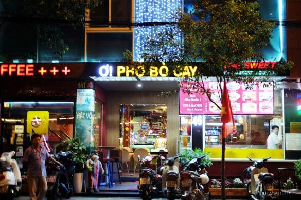 The Sweet Restaurant, Pho, Ho Chi Minh City, Vietnam