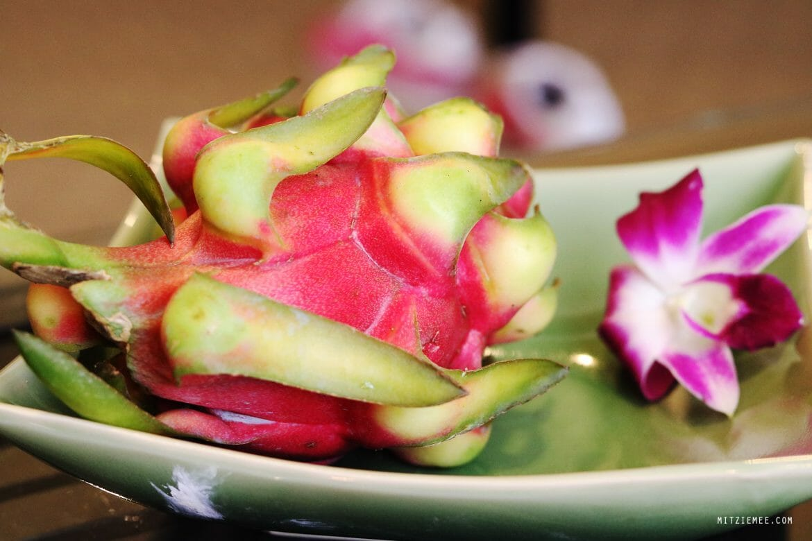 Dragon fruit at Banyan Tree Bangkok
