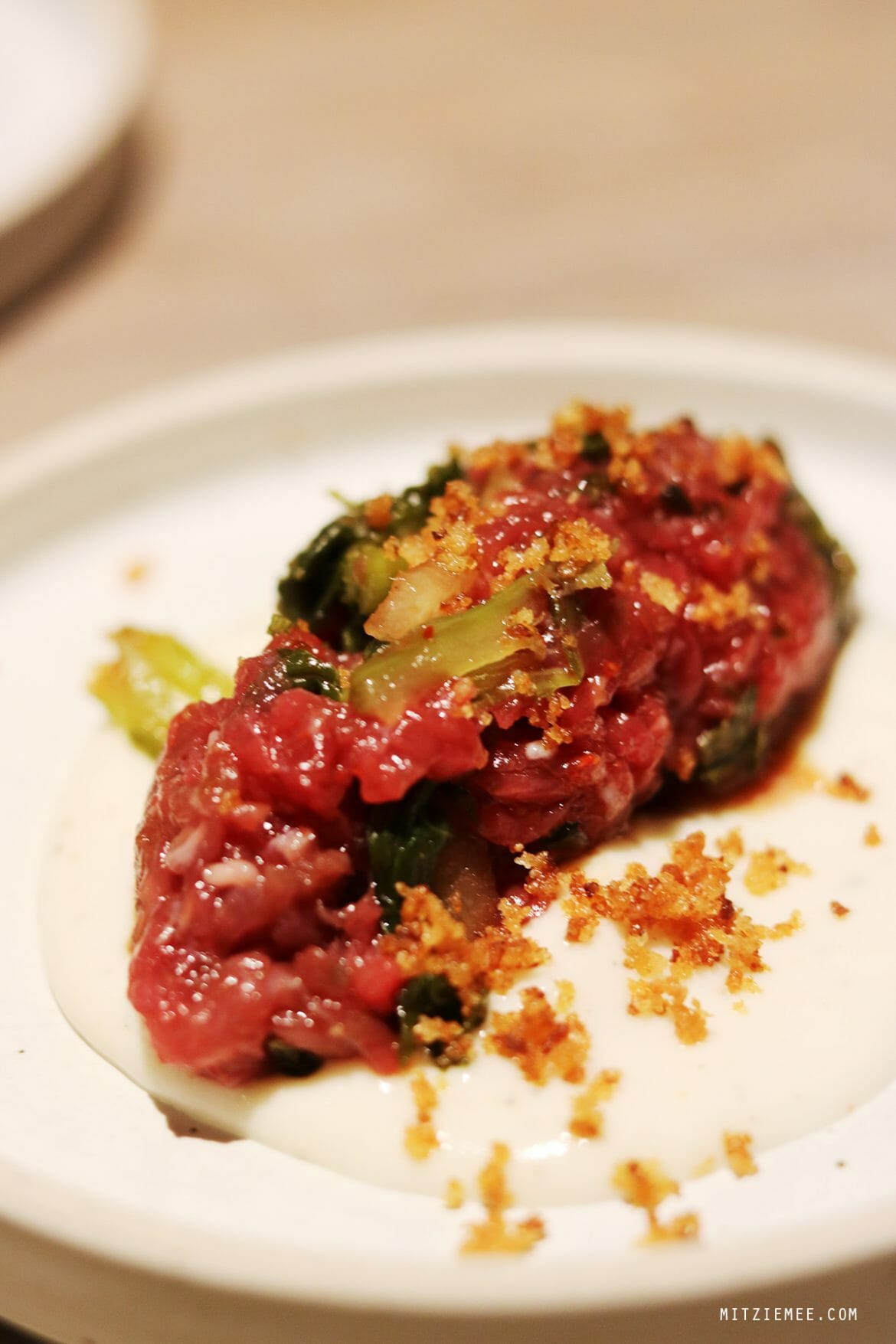 Beef Tartare, Atoboy, Korean restaurant in New York