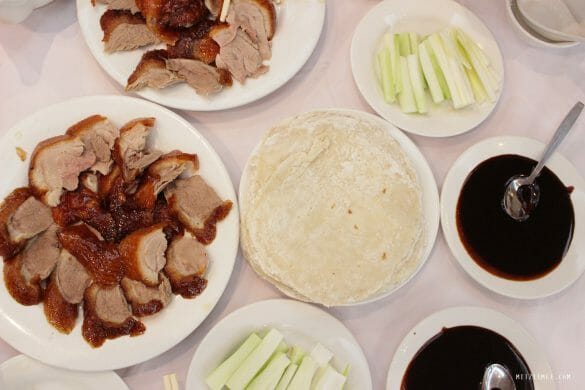 Peking Duck at Spring Deer, Hong Kong