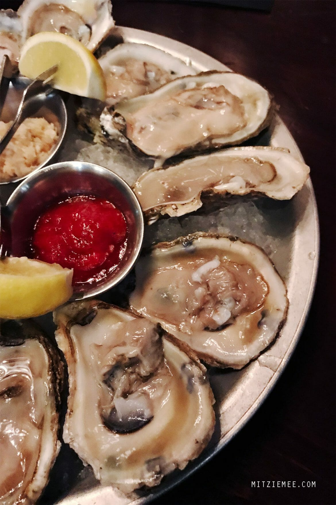 Happy Hour oysters at The Lovelace, Financial District, New York