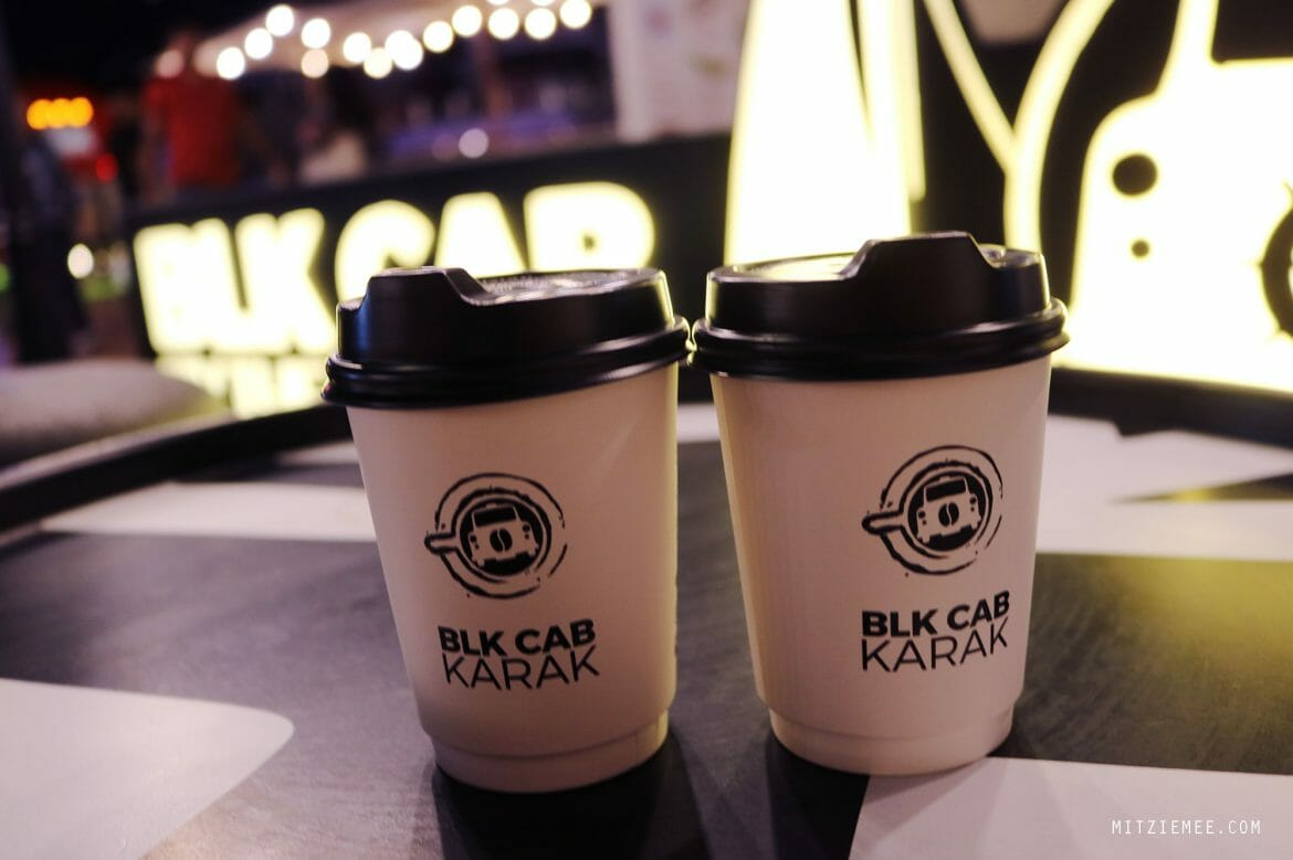 BLK Cab Karak and coffee, Dubai Marina