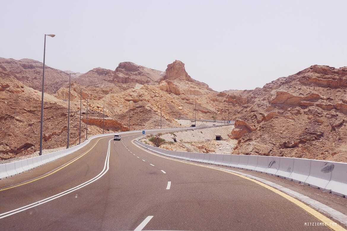 Jebel Hafeet road trip from Dubai
