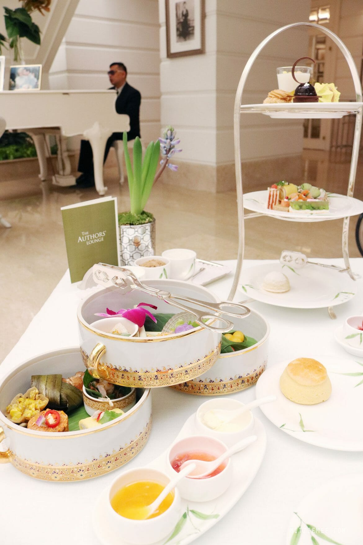 Afternoon Tea at the Authors' Lounge, Mandarin Oriental Bangkok