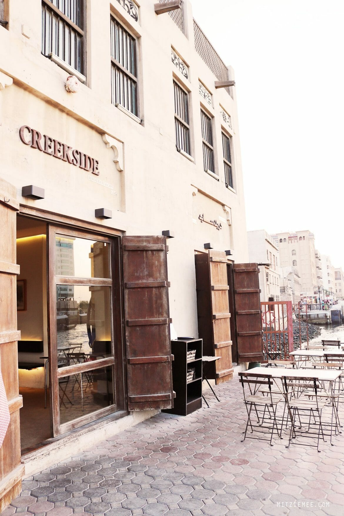 Creekside Cafe, Dubai Creek