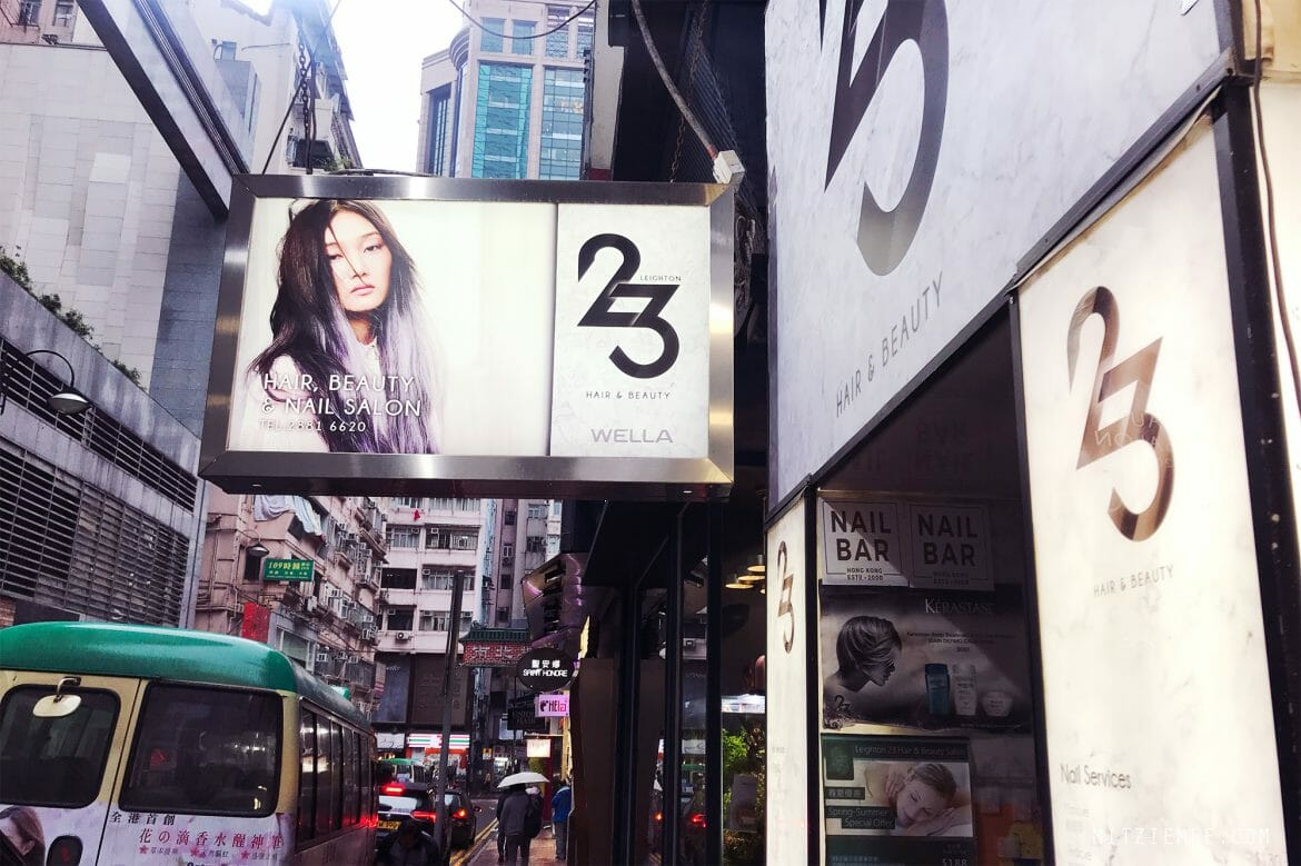Leighton 23 Hair salon in Causeway Bay, Hong Kong