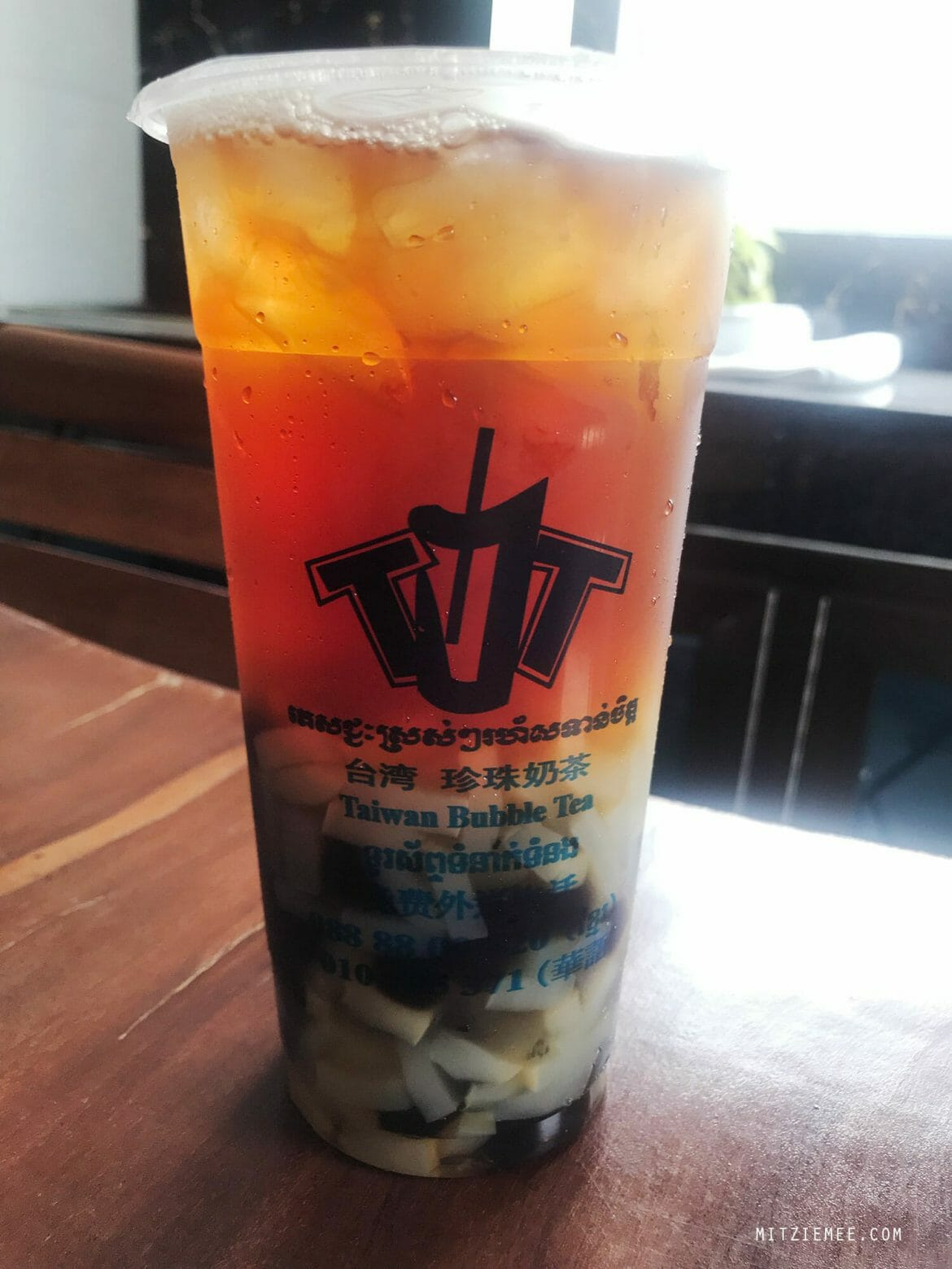 Taiwan Bubble Tea in Phnom Penh