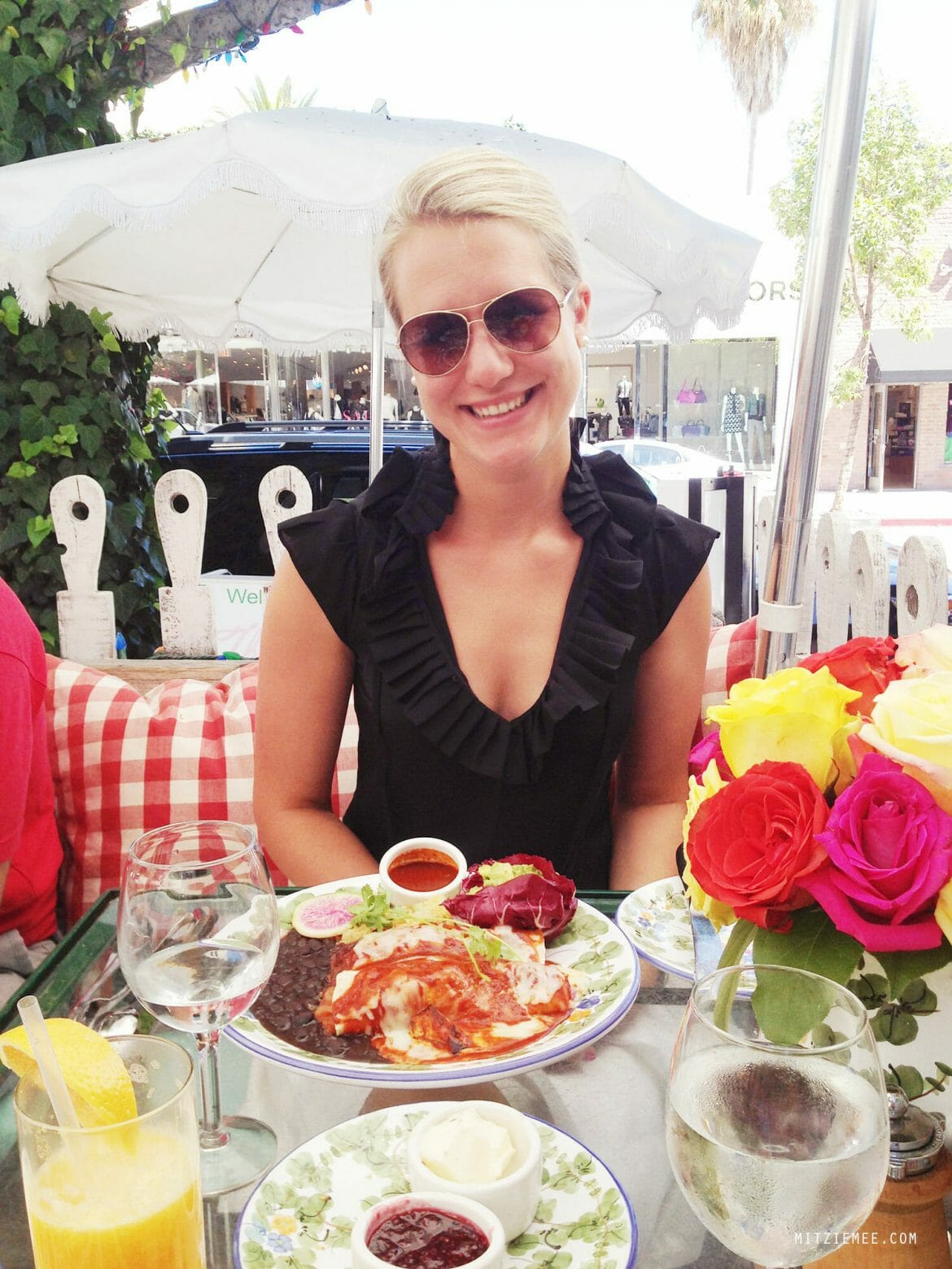 Brunch at The Ivy, Los Angeles