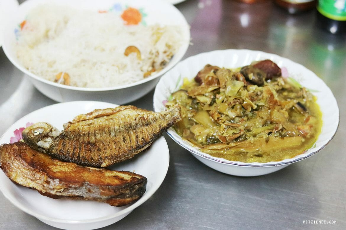 Khmer-style dinner in Phnom Penh