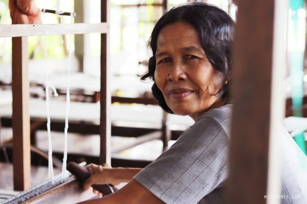 Weavers Project, Takeo, Cambodia