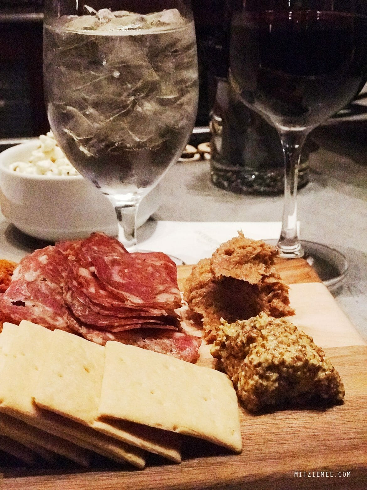 Tapas in the bar at InterContinental in Buckhead, Atlanta