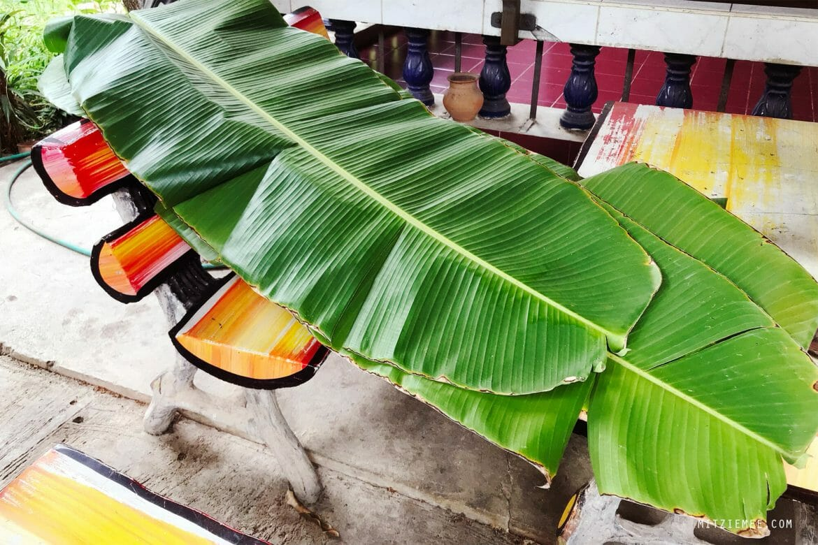 Banana leaves