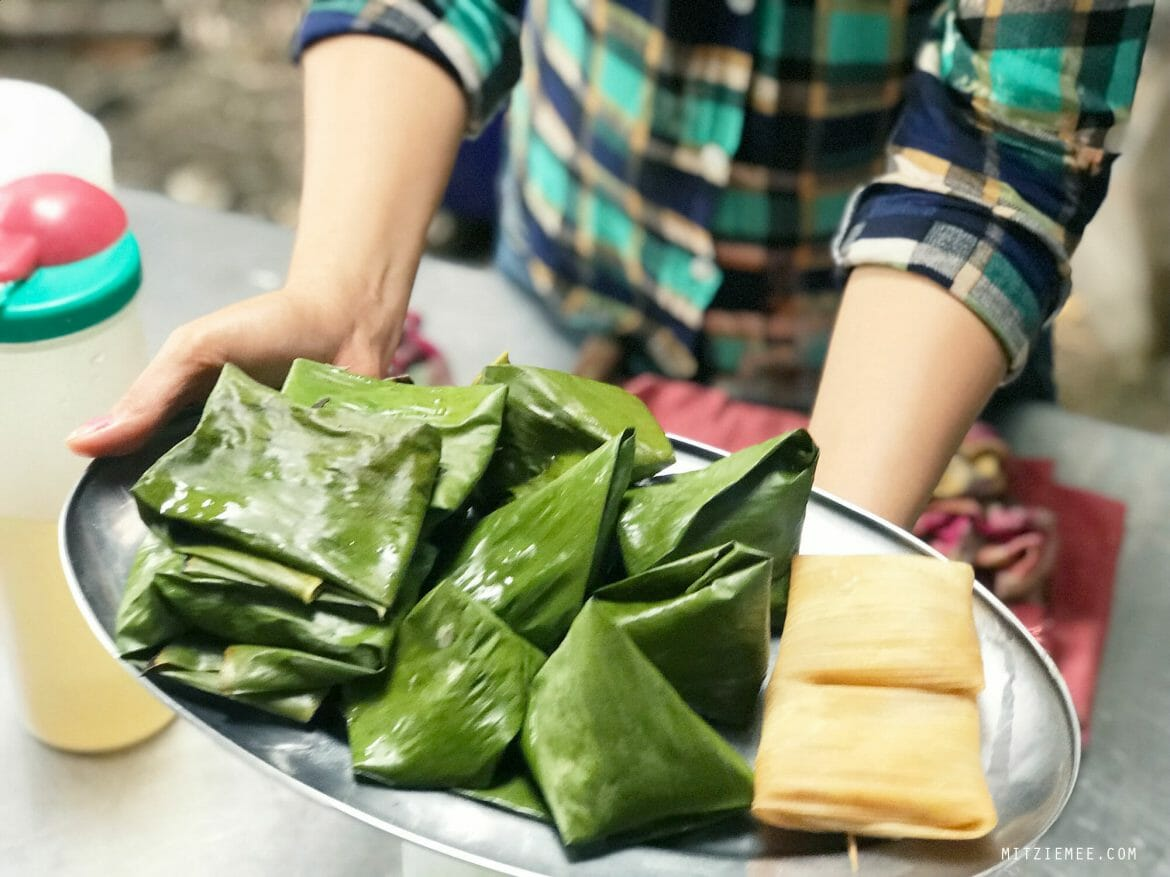 Burmese banana wraps, recipe, Tea Garden in Mae Sot