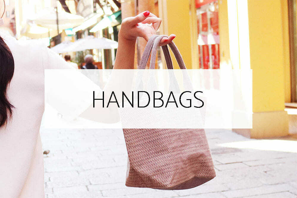 Handwoven cotton bags