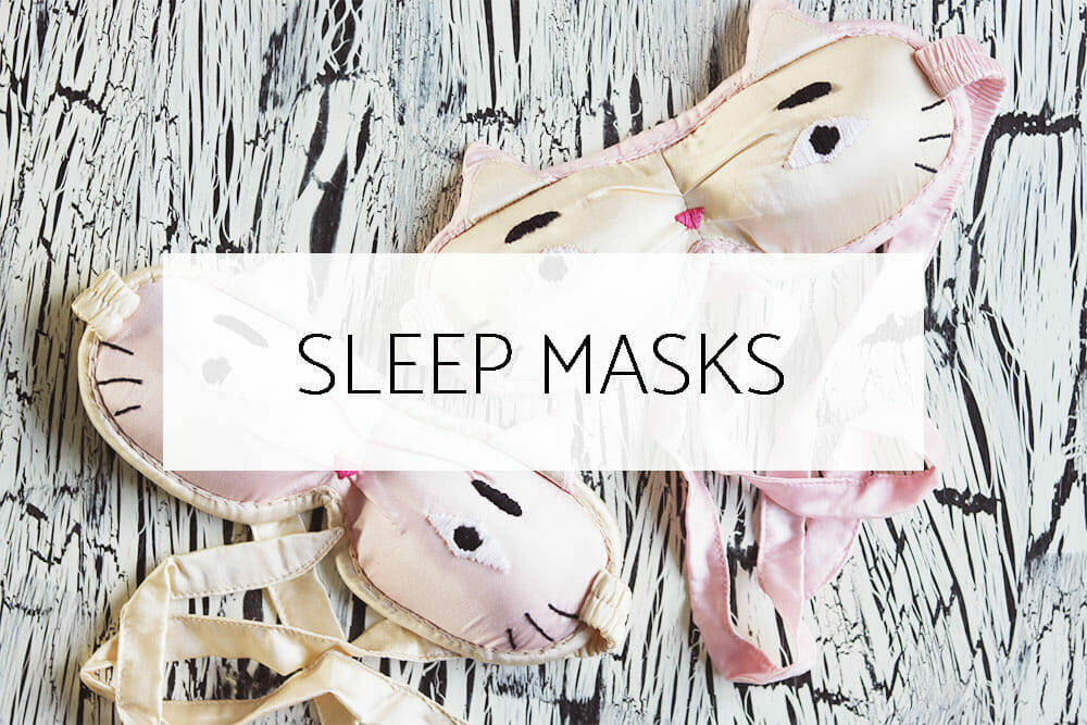 contoured sleep masks