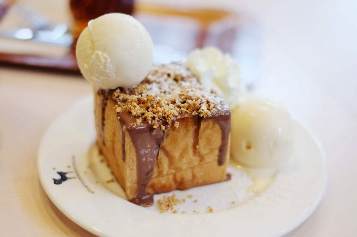 Shibuya Honey Toast at After You, Bangkok
