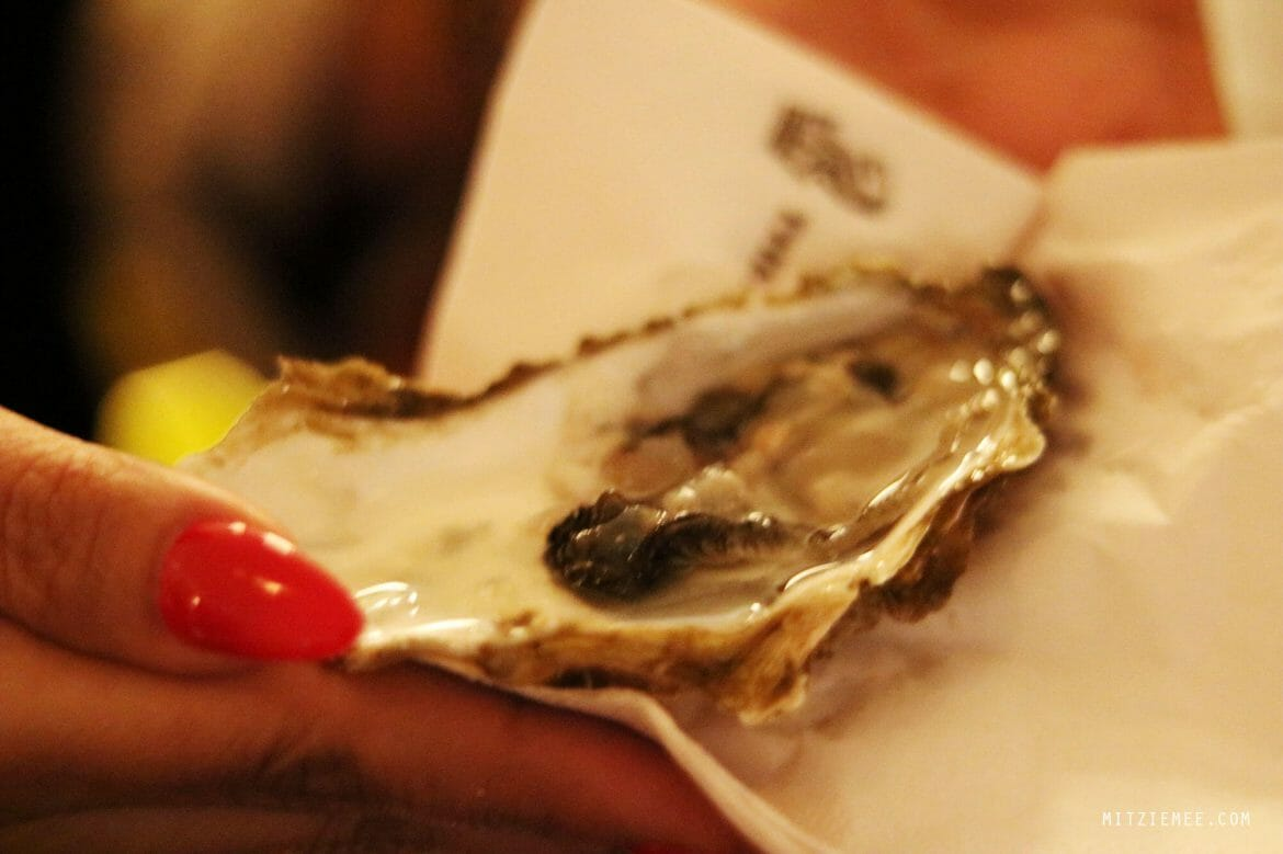Ladies' night oysters