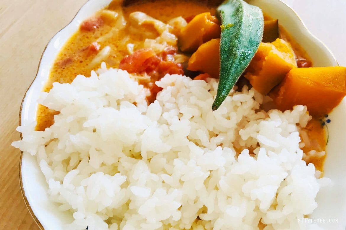 Butter chicken soup curry, frokost i Japan