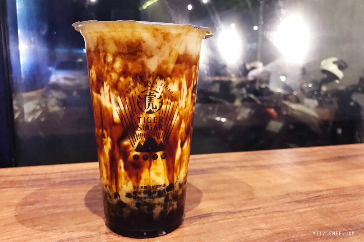 Tiger Sugar, brown sugar boba i Phnom Penh