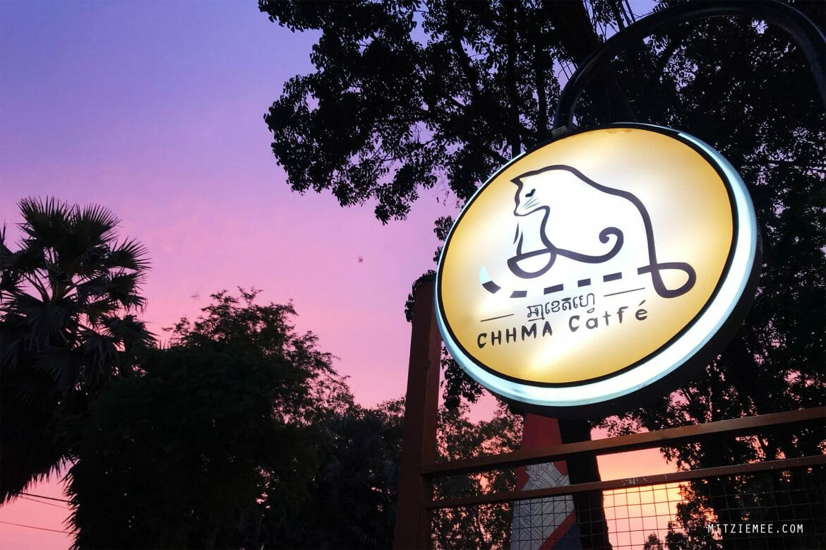 Chhma Catfé, cat cafe in Phnom Penh