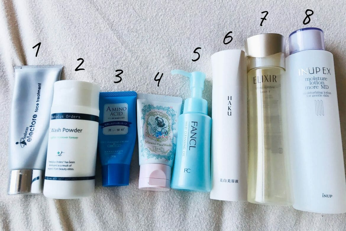 Japanese beauty products, J-beauty routine