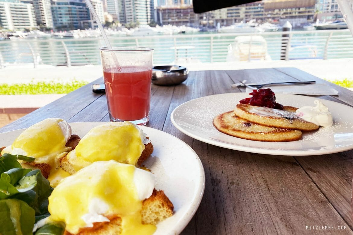 Breakfast at Baker & Spice, Dubai Marina