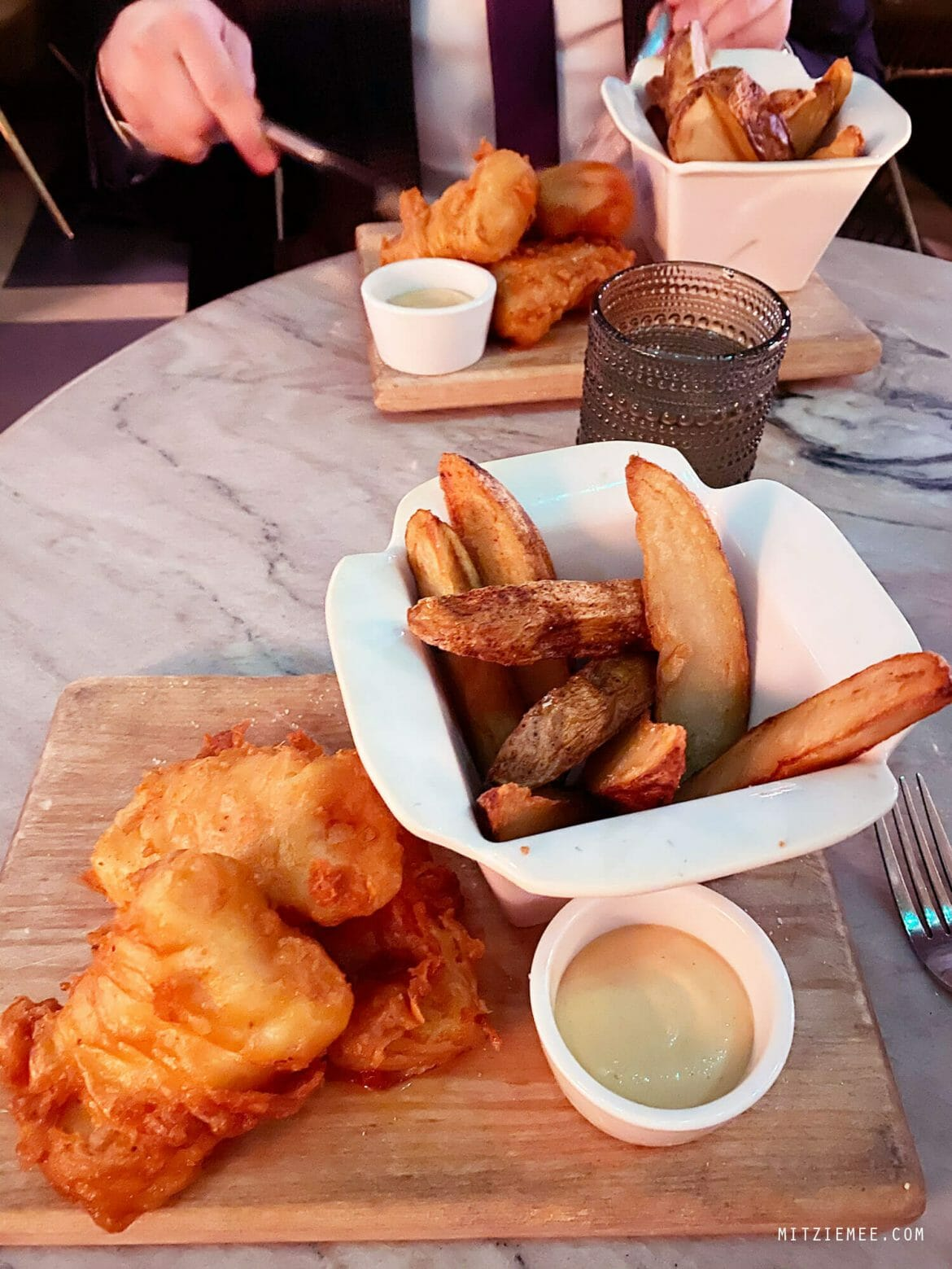 Fish & Chips, Lamia's Fish Market, East Village, New York