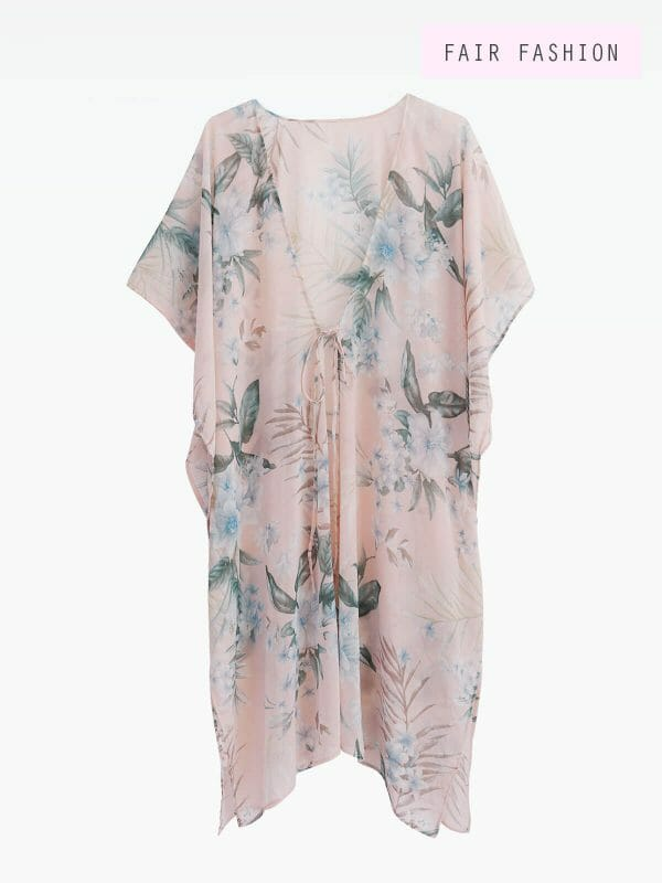 beach cover-up, Dubai, baby pink