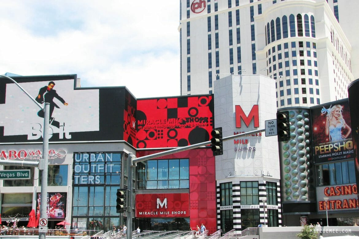 Miracle Mile Shops on The Strip, Las Vegas