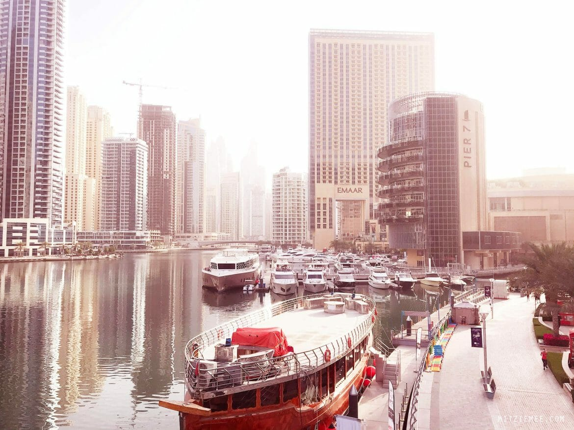 Dubai Marina morning run